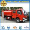 Dongfeng 4X2 Cabina Dupla Concurso 4500 litros de água caminhão de combate a incêndios