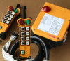 Système à télécommande de radio de grue d'élévateur de 2 glissières des émetteurs 8
