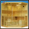 5-persoon de Verre Infrarode Zaal van de Sauna van de Steen, de Zaal van de Sauna van het Fornuis van de Sauna, de Infrarode Sauna van Thrapy van de Gezondheid, de Cabine van de Sauna (ids-LX53)