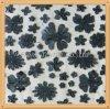 PU-Blume auf Laser Embroidery-Flk4009