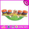 Il nuovo blocchetto di legno dell'equilibrio 2014 gioca il gioco animale dell'equilibrio, il giocattolo del gioco dell'equilibrio dei bambini, il gioco di legno W11f013 stabilito dell'equilibrio del bambino di vendita calda