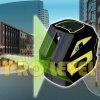 1V1h Cross-Line Autonivelante Nivel láser verde (SK-118G)