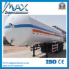 45 Cbm LPG Transport Tank Semi Trailer, LPG Storage Tank Semi Trailer para Sale