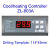 220V는 관제사 해산물 기계 Zl-803A를 위한 냉각하거나 난방 항온