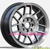 New Design 15*7j 8*100/114.3 Because Alloy Wheel