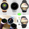 Volle Bildschirmanzeige runder IPS-Touch Screen Smartwatch
