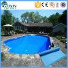 수영풀 제품 파란 PVC 강선