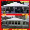 党直径8mのための2018普及した透過マルチ側面のテント30人のSeaterのゲスト
