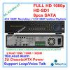 Volle 4channel 1080P HD SDI Überwachung-Recorder-Unterstützung 8PCS SATA bis zu 3tb jedes CCTV-DVR mit RS485 PTZ, Ml-9204xh-S1