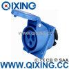 Ceeform 16A 3 Pinos Ângulo Industrial azul do painel tipo soquete Montado