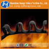 Пламя горячего сбывания цветастое - retardant крюк и петля