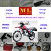 pièces de rechange pour Jialing moto Honda XL200 Dirt Bike