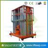 6m aan Ladder van de Legering van het Aluminium van de Lift van 10m de Mobiele Elektrische Hydraulische