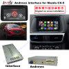 7 caixa Android da navegação da relação da polegada HD GPS para Mazda 2014-2016 Cx-5, Bt/WiFi/DVD