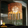 Dekorative handgemachte hölzerne u. Rattan-hängende Lampe (KAMD-9515B)