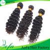 Estensione dei capelli umani dei capelli del Virgin dell'indiano del commercio all'ingrosso 100% di modo