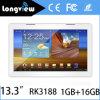 13.3 polegadas MEADOS DE - tabuleta Android do PC do núcleo do quadrilátero da definição elevada com a tela de 1920X1080 IPS