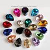 Moda 10x14mm gotas de agua K9 cose en las piedras cristalinos claros diamantes de imitación con el oro garra Ajuste