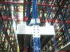Estantería de alta densidad de la lanzadera de la radio del almacenaje