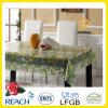 Pano de mesa transparente impresso em PVC