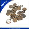 Vigilanza Pocket dell'orologio nazionale del braccialetto per le signore