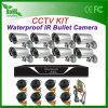1200tvl 8CH CCTV Kits Outdoor Bullet CCTV System