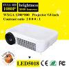 1280X800 mini projecteur portatif sans fil de 3000 lumens LED