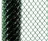 Playground를 위한 PVC Coated Iron Wire Mesh Chain Link Fence