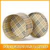 Ronda decorativos cajas de cartón con tapas (BLF GB539)
