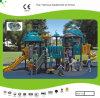 Campo de jogos ao ar livre das crianças temáticos do robô fresco de tamanho médio de Kaiqi (KQ10103A)
