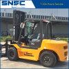 Forklift de pedra Diesel da combustão interna do tirante de 7 toneladas