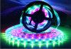 Bande imperméable à l'eau rêveuse magique de la couleur RVB IP67 DEL de SMD5050 150LEDs