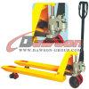 Racking를 위한 3 톤 무겁 의무 Hydraulic Hand Pallet Truck 잭 Trolley Forklift
