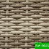 Più nuovo rattan esterno graffiato rotondo della resina della mobilia (BM-9655)