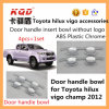 Voiture Door Accessories Cheap Plastic Bowls pour Toyota Hilux Revo Vigo Door 2015 Bowl Cover Hilux Trd Insert Door Handle Bowl Cover