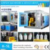 2L HDPE/PE/PP Reinigungsmittel-flüssiger Flaschen-Doppelt-Kopf-Schlag-formenmaschine