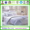 Hoja de cama determinada del hotel 100% de la raya del algodón el 1cm/casero del lecho