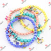 Edelstahl Wire Beads Bangles/Bracelet für Young Girls Jewelry (B15)