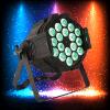 Homei 18 4NO1 Full-Color Iluminação PAR