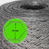 De hete Verkoop schakelt 1 het Duim Gegalvaniseerde Hexagonale Netwerk van de Draad in