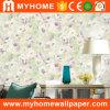 PVC impermeable de PVC en relieve profundo paredes de papel tapiz de inicio