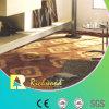 Plancher en stratifié imperméable à l'eau de cerise gravé en relief par HDF du ménage E0
