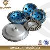 Горячее продавая солнечное одиночное колесо чашки диаманта Turbo (SY-DTW-77)