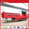 Direct remorque 3 essieux du bétail en usine