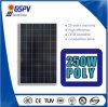 poli comitato solare 250W per il sistema di energia solare