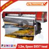 La alta calidad Funsunjet FS-3202m 1440ppp impresora solvente Eco con dos Dx5/7 jefe