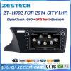 Reproductor de DVD del coche del sistema Wince6.0 para la ciudad Lhr 2014 de Honda