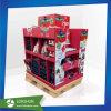 El estante de exhibición de cartón tarjeta de regalo para Navidad regalo de la promoción