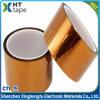 Nastro adesivo resistente a temperatura elevata dell'oro di calore