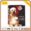 La navidad lindo perrito Patten bolsa de papel de regalo